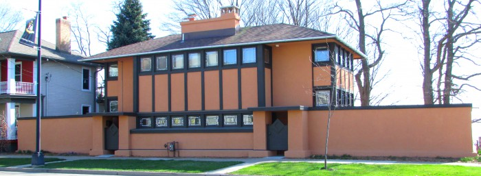 Hardy House FLW in Racine