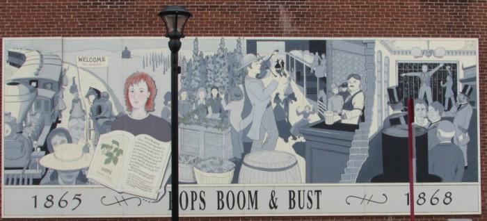 Hops Boom or Bust Mural