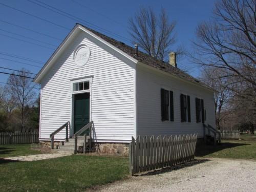 Bohemian Schoolhouse in Windpoint