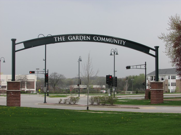 Greendale Garden Community Arch