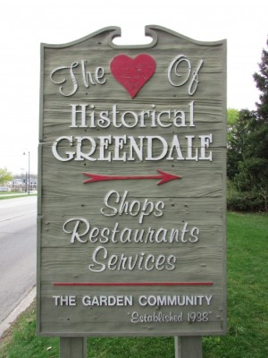 Greendale sign