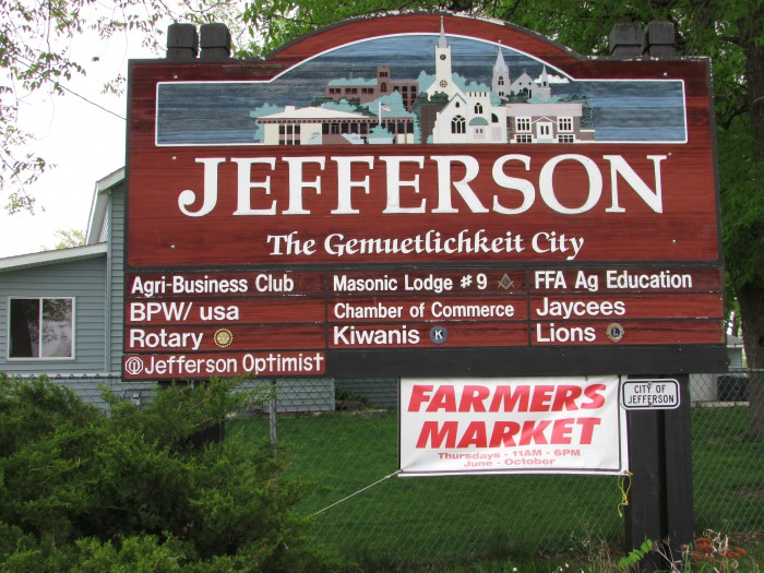 Jefferson Sign