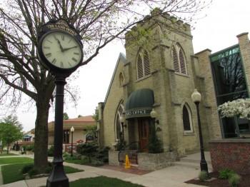 City Clock in Jefferson