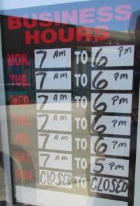 Kewpie hours