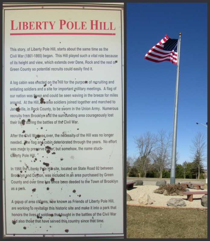 Liberty Pole Hill in Brooklyn