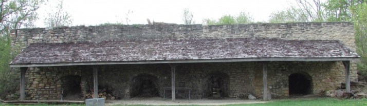 Limestone Kilns at Trimborn Farm in Greendale