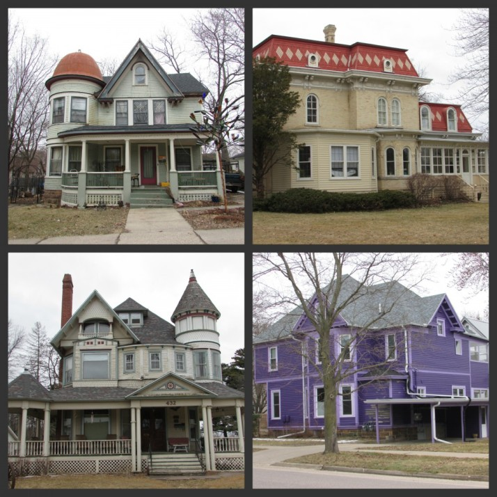 Park Street Historic District in Reedsburg collage