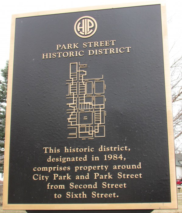 Park Street Historic District in Reedsburg
