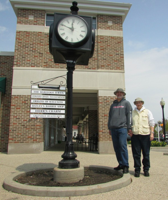 Picture with Clock in Greendale