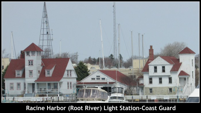 Racine Harbor Light Station
