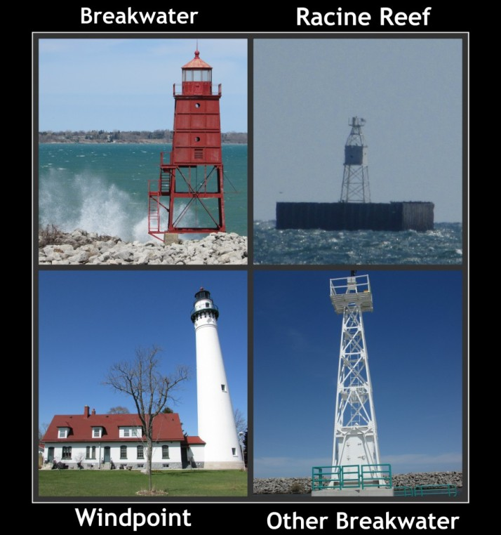 Racine Lighthouses