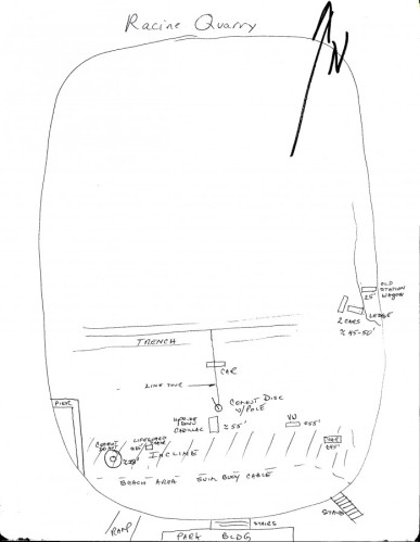 Racine Quarry diagram