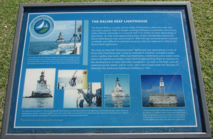 Racine Reef Lighthouse Info