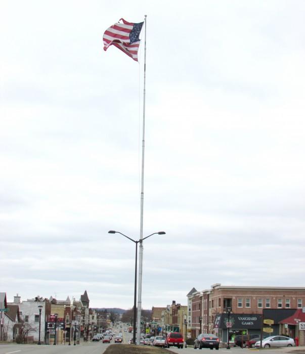 Reedsburg Flagpole
