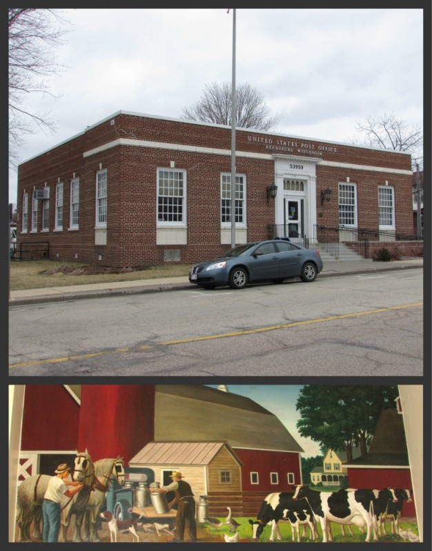 Reedsburg Post Office and Mural