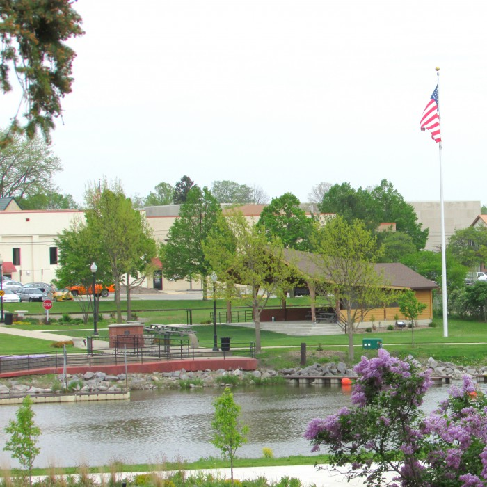 Rotary Park Bandshell in Jefferson