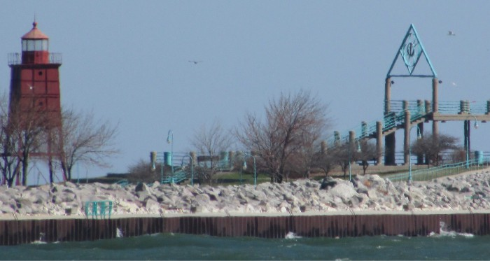 Viewing Platform at Racine Harbor Park