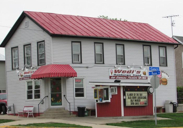 Wedl's Hamburger Stand in Jefferson