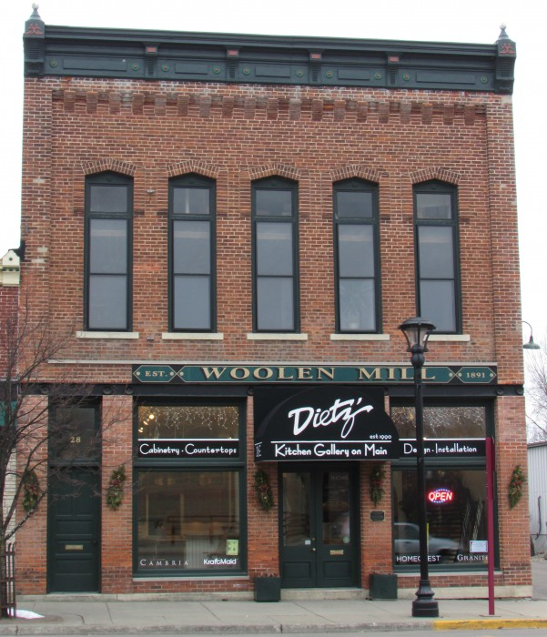 Woolen Mill Building in Reedsburg