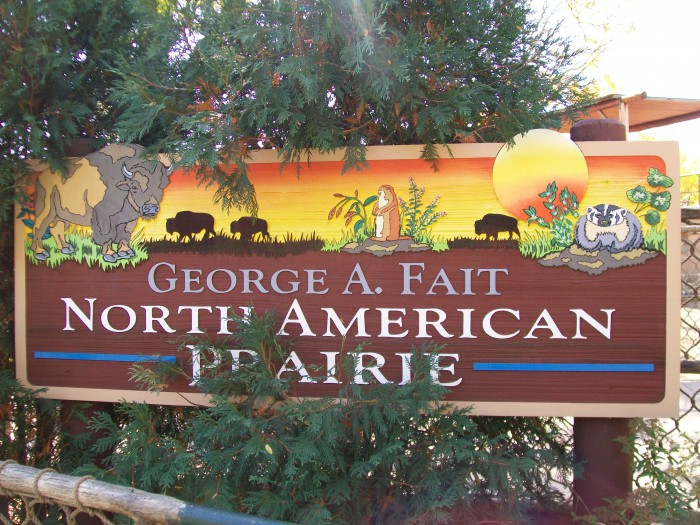 George M. Fiat North American Prairie exhibit at Vilas