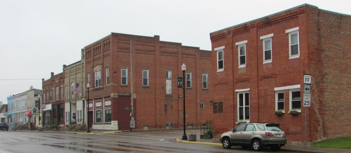 2nd Block of downtown Wonewoc