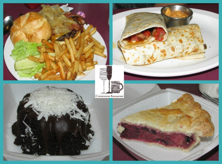 Cornerstone Restaurant food Collage