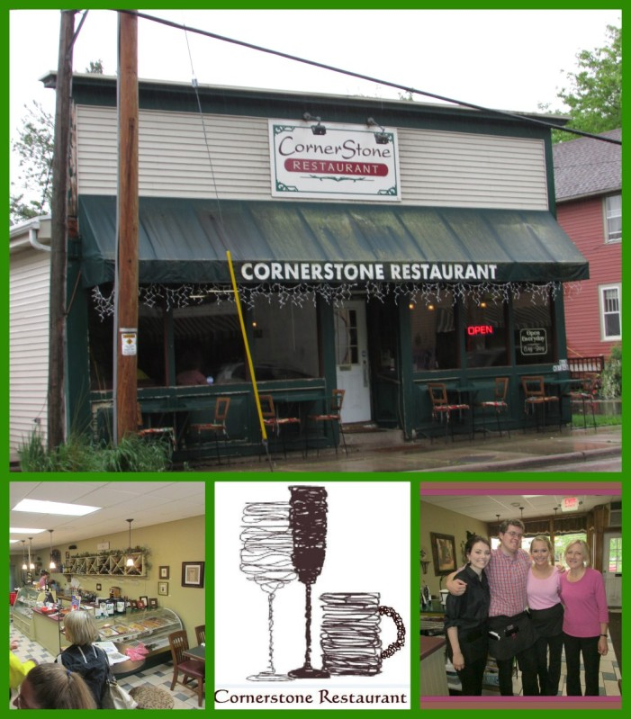 Cornerstone Restaurant in Genesee Depot collage