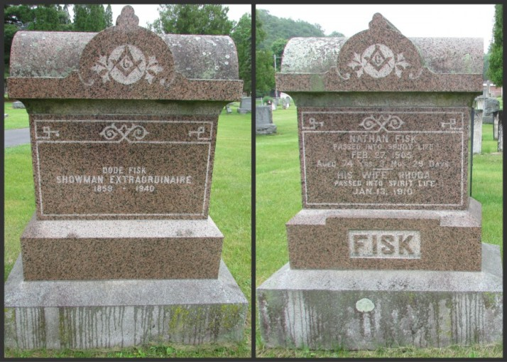 Fisk Monument in Wonewoc