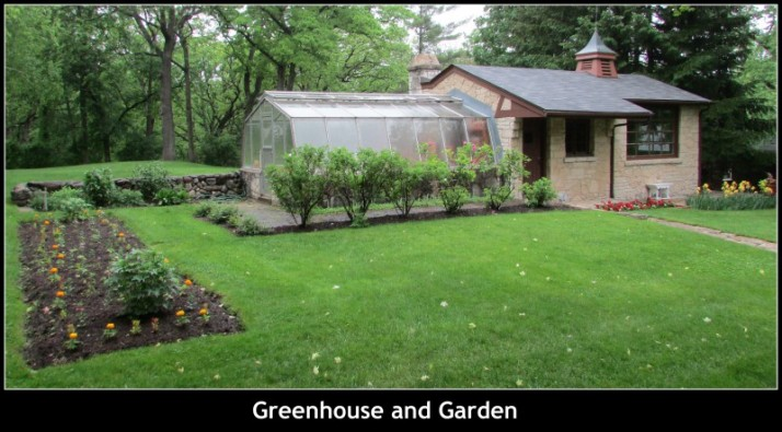 Greenhouse and Garden at Ten Chimneys