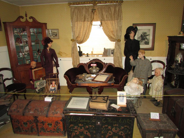 The Parlor at Stoughton Historical museum