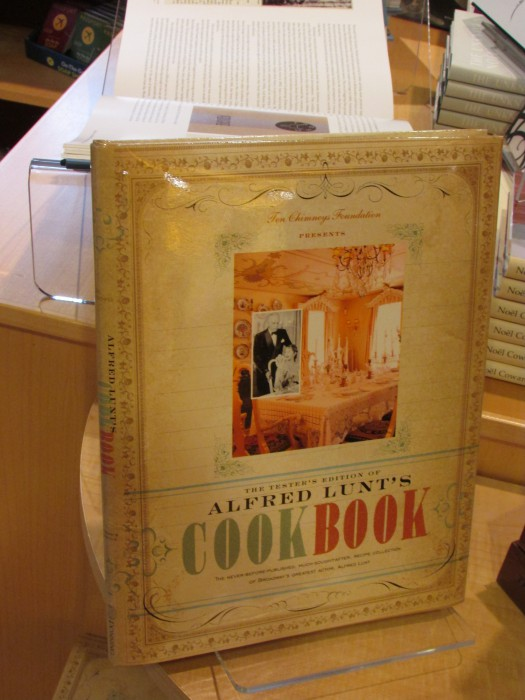 Alfred Lunt Cookbook