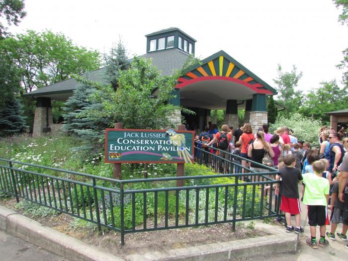 jack Lussier Conservation Pavilion at Vilas