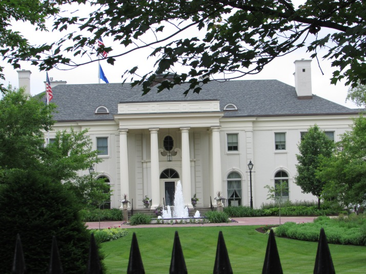 Governor's Mansion in Maple Bluff