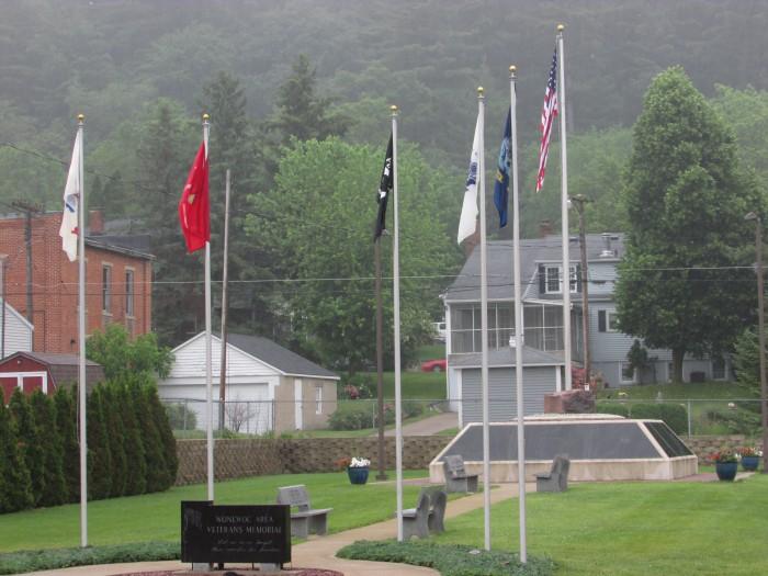 Wonewoc Vets Memorial