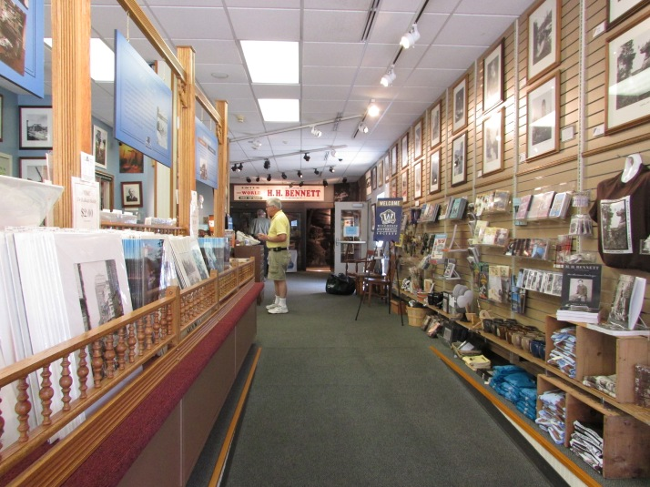 Inside H.H. Bennett Studio at the Dells