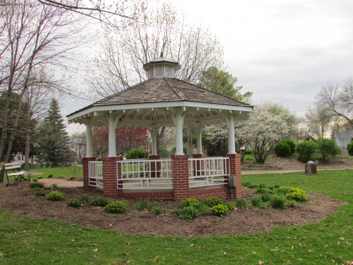 John A. Johnson Memorial park in Maple Bluff