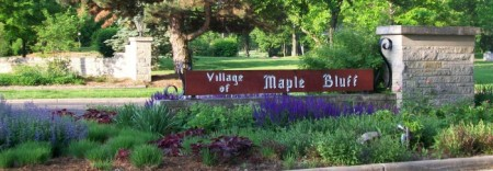 Maple Bluff Sign