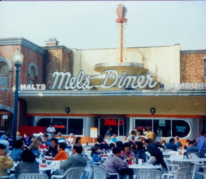 Mel's Diner Universal Studios