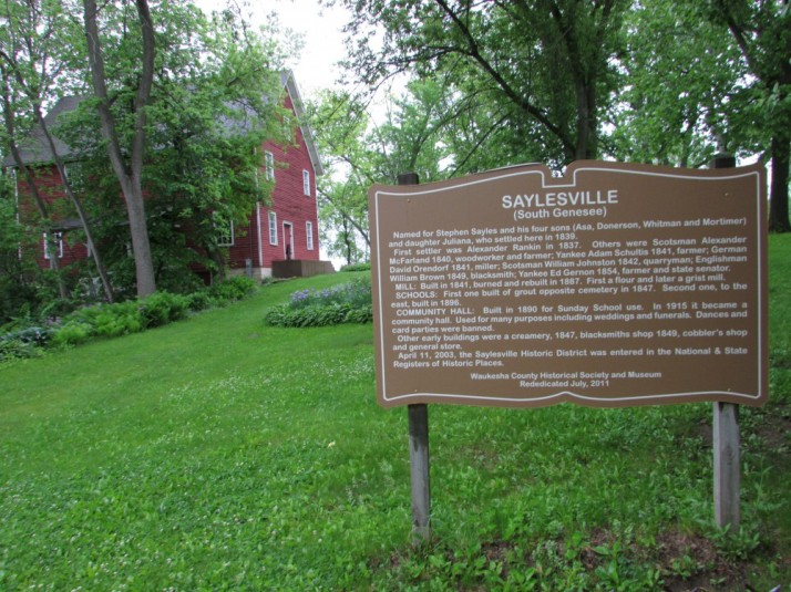 Saylesville Mill in South Genesee