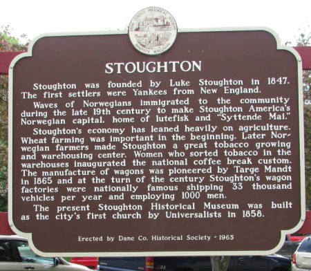 Stoughton marker