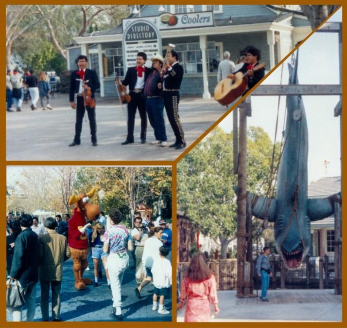 Universal Studios Collage
