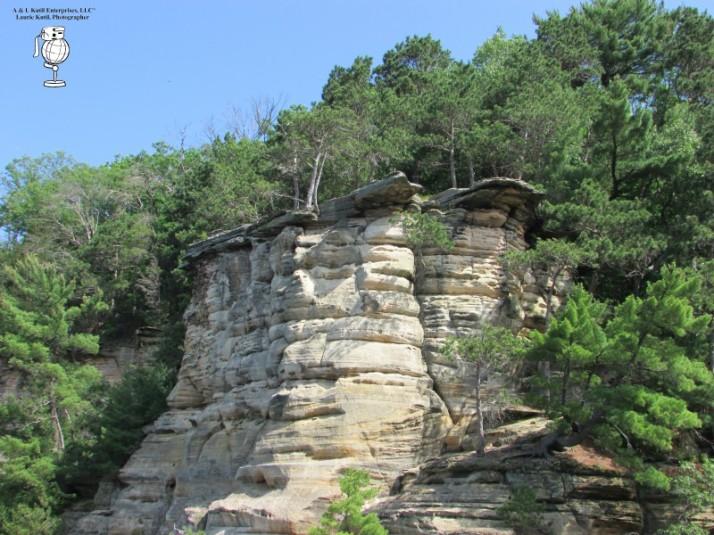 Upper Dells Rock formation WM