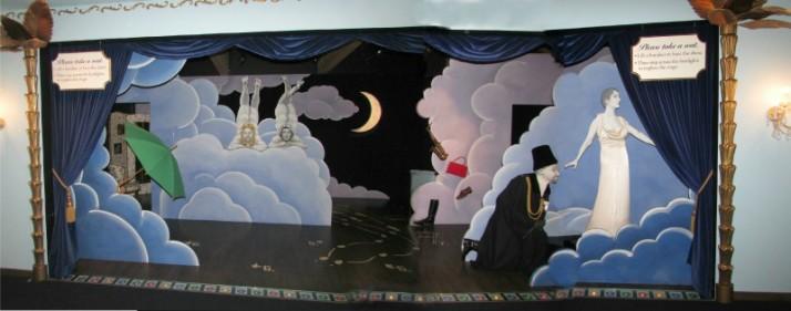 Visitor Center Stage Mock Stage at Ten Chimneys