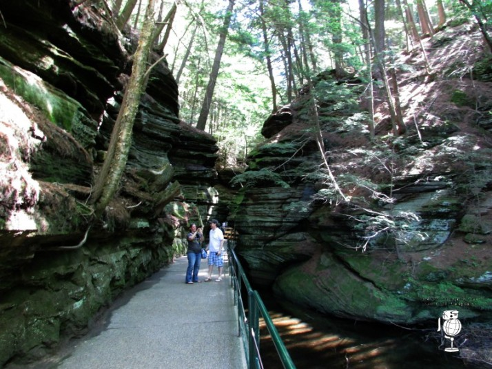 Witch's Gluch Path WM at Dells