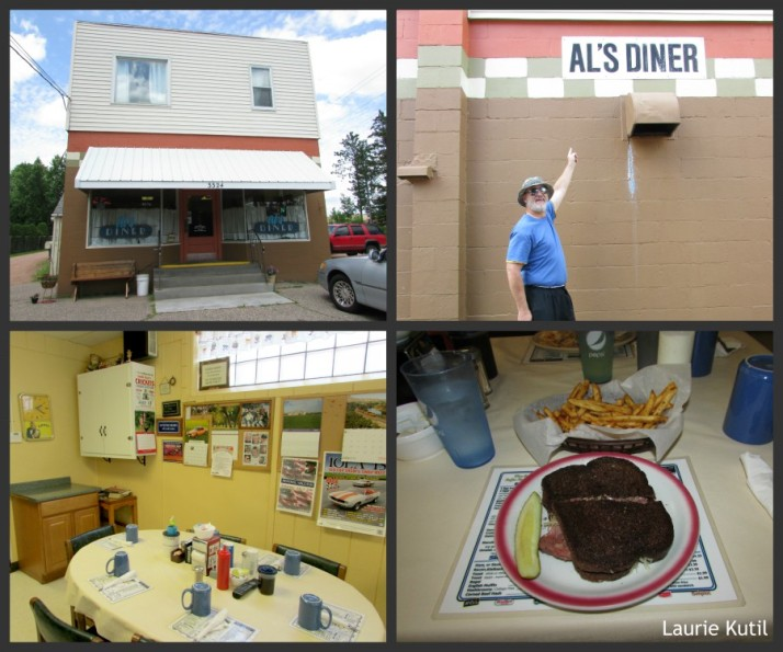 Al's Diner Collage in Stevens Point WM