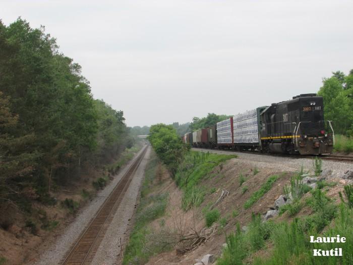 Amherst Junction Dual Level Tracks WM