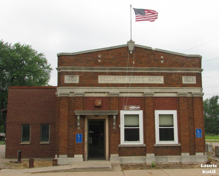 Amherst Junction State Bank Building WM