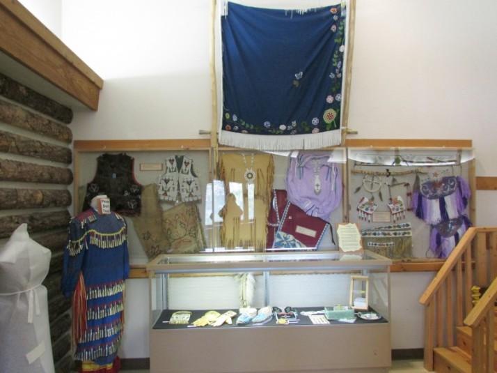 Beadwork display
