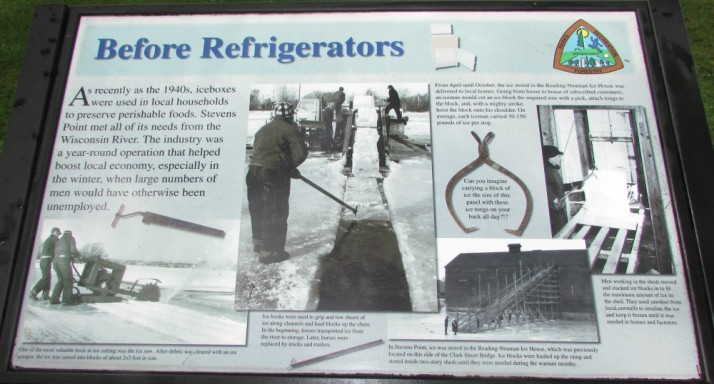 Before Refrigerators sign in Stevens Point