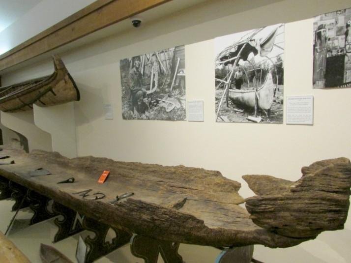 Birch Bark and Dugout Canoe
